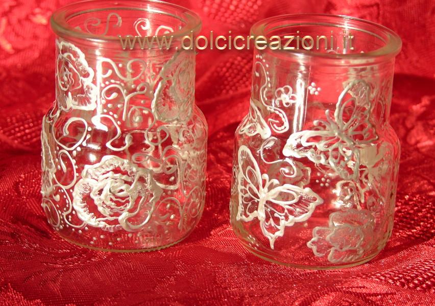 In vetro - Vasetti vetro decorati ...