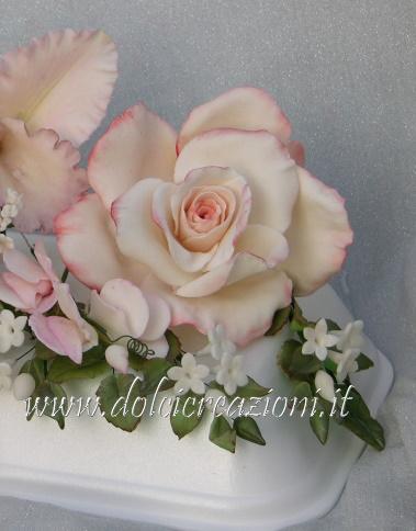 Dolci creazioni by carla bouquet rose e orchidee in for Riproduzione rose